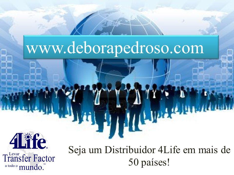 Seja um Distribuidor 4Life em mais de 50 países!