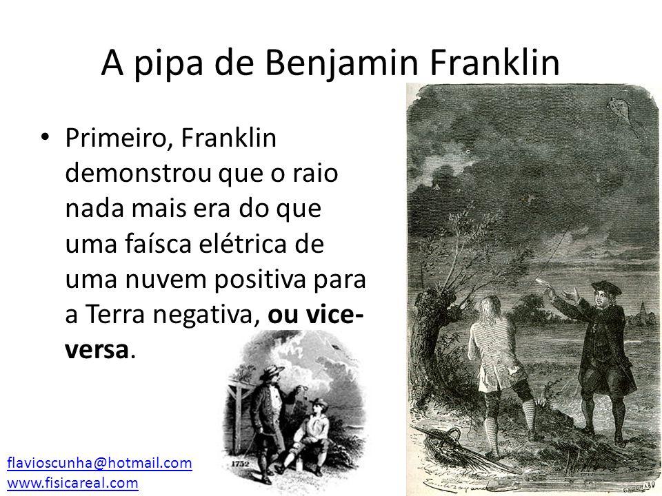 A pipa de Benjamin Franklin