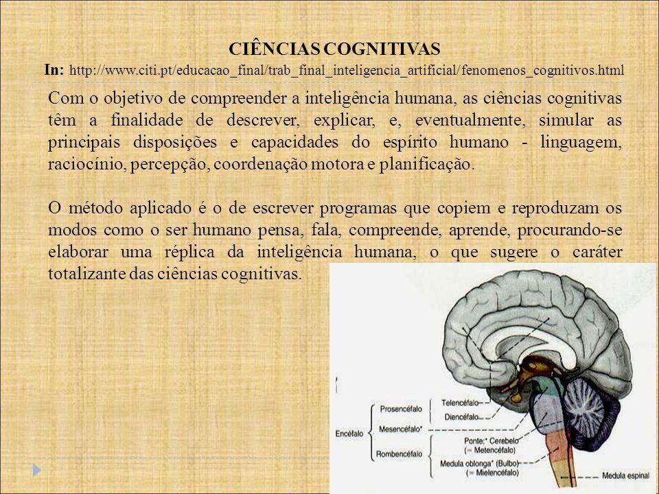 CIÊNCIAS COGNITIVAS In: http://www.citi.pt/educacao_final/trab_final_inteligencia_artificial/fenomenos_cognitivos.html.