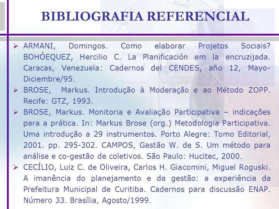 BIBLIOGRAFIA REFERENCIAL