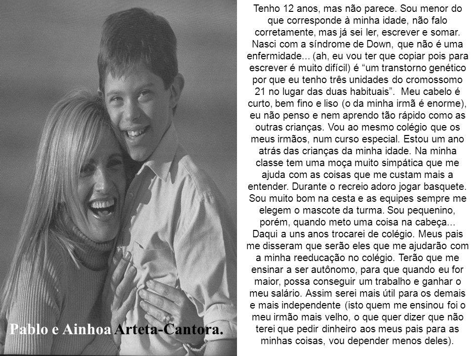 Pablo e Ainhoa Arteta-Cantora.