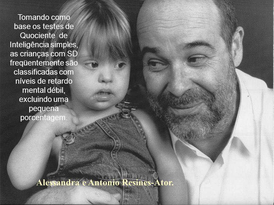 Alessandra e Antonio Resines-Ator.