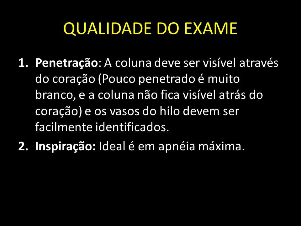 QUALIDADE DO EXAME