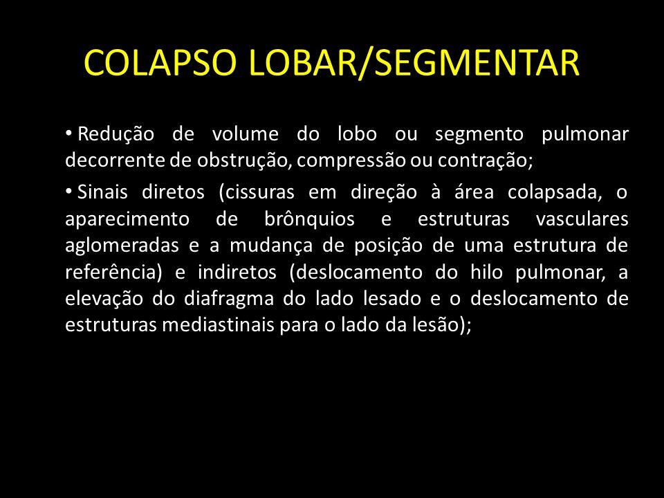 COLAPSO LOBAR/SEGMENTAR