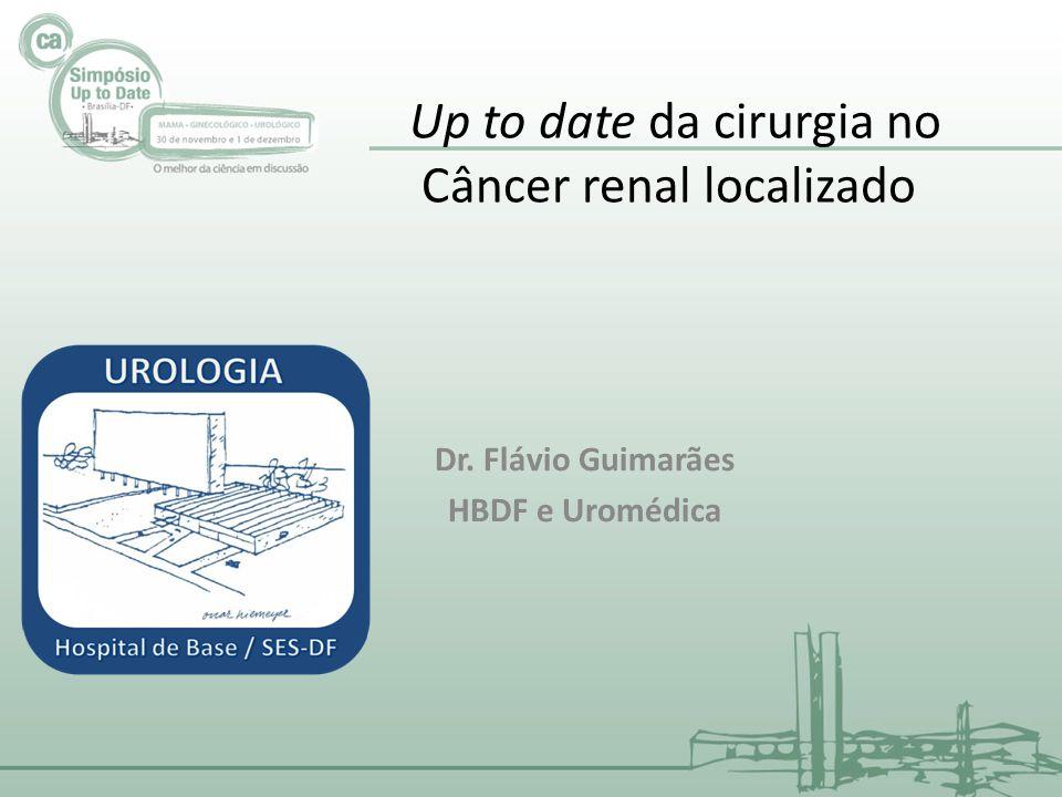 Up to date da cirurgia no Câncer renal localizado