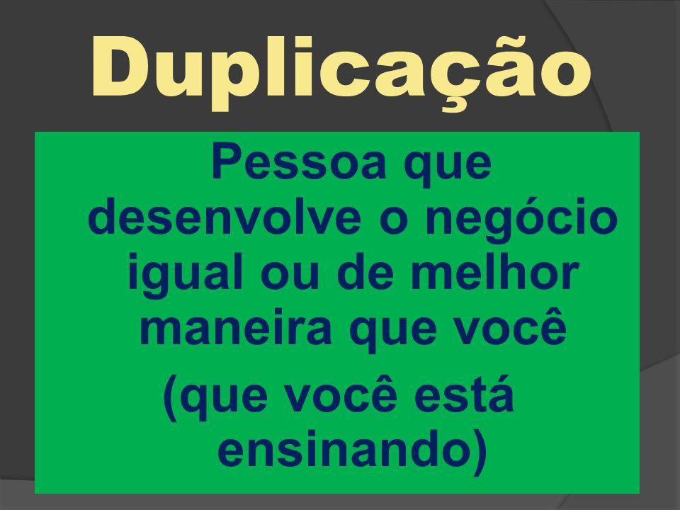 Duplicação (que você está ensinando)