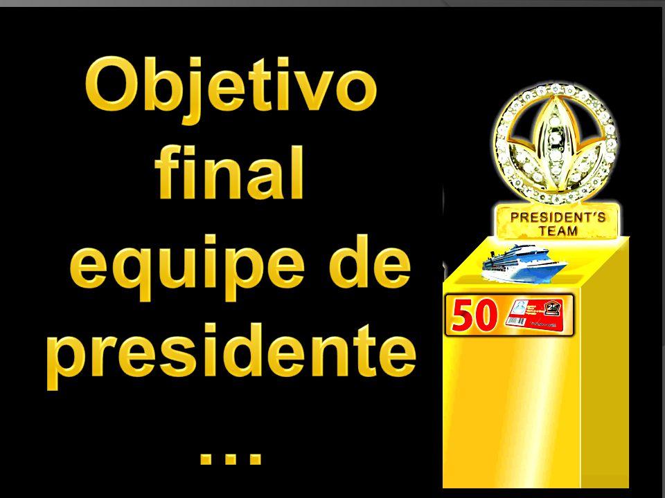 Objetivo final equipe de presidente …