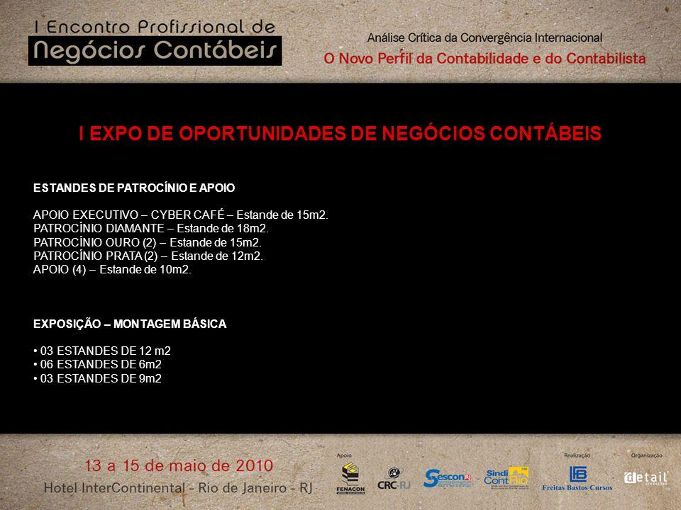 I EXPO DE OPORTUNIDADES DE NEGÓCIOS CONTÁBEIS