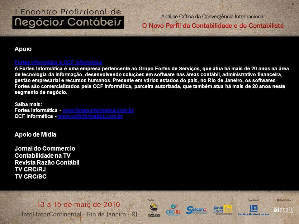 Revista Razão Contábil TV CRC/RJ TV CRC/SC