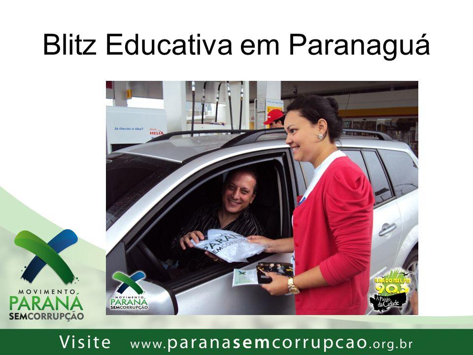 Blitz Educativa em Paranaguá