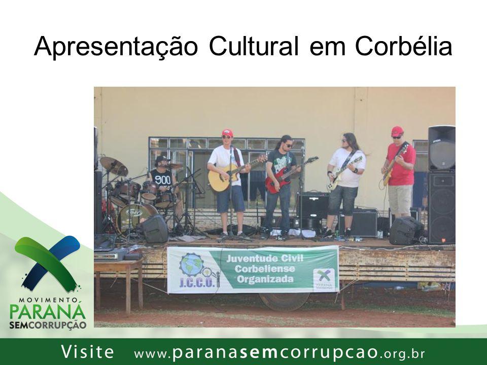 Apresentação Cultural em Corbélia