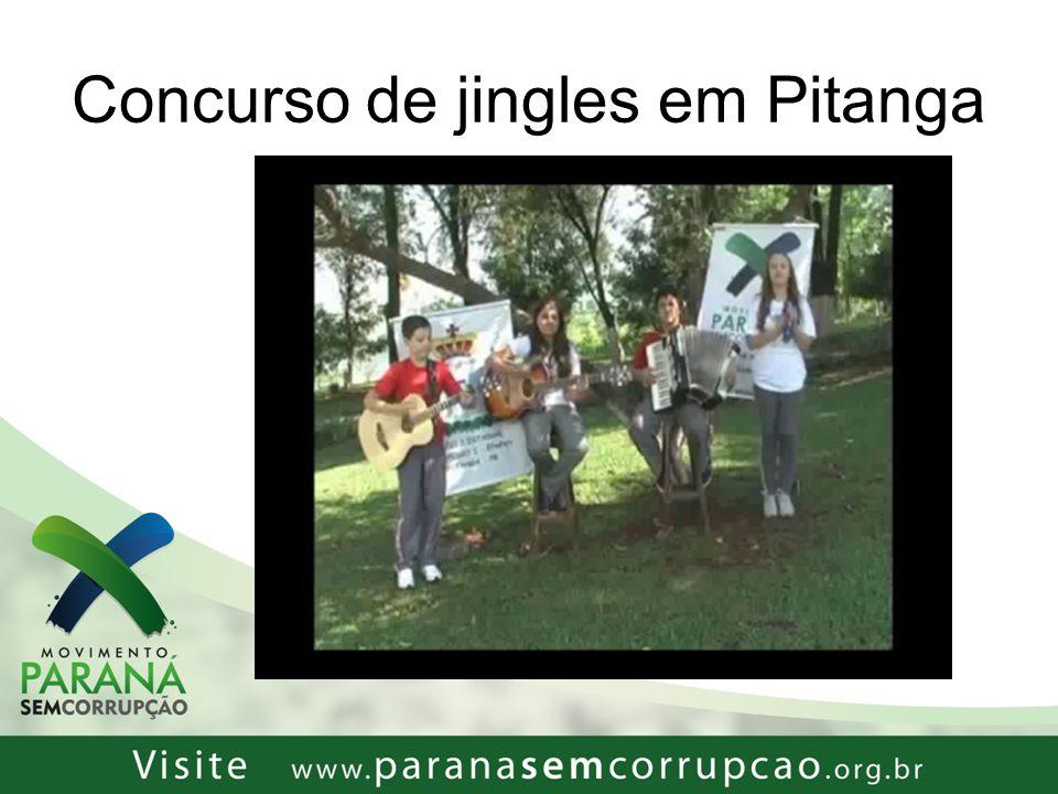 Concurso de jingles em Pitanga