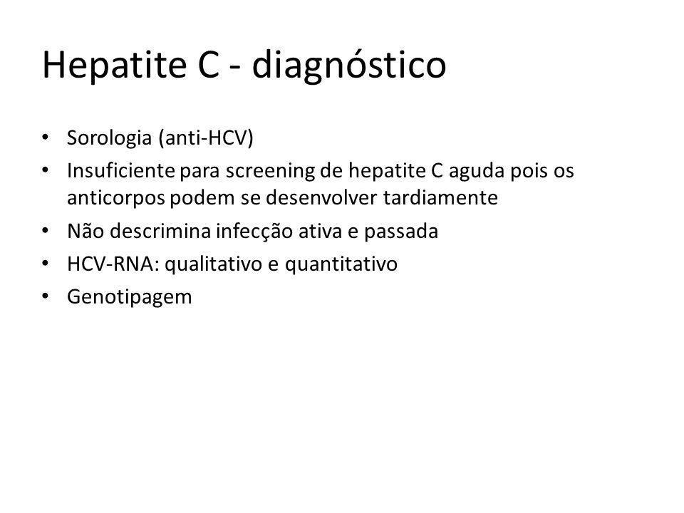 Hepatite C - diagnóstico