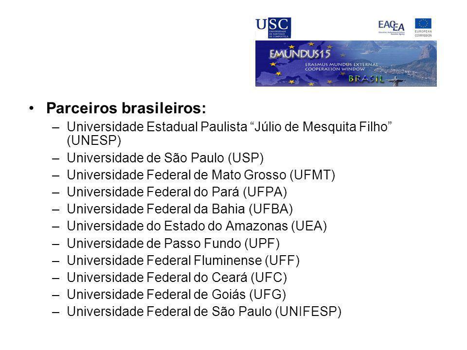 Parceiros brasileiros:
