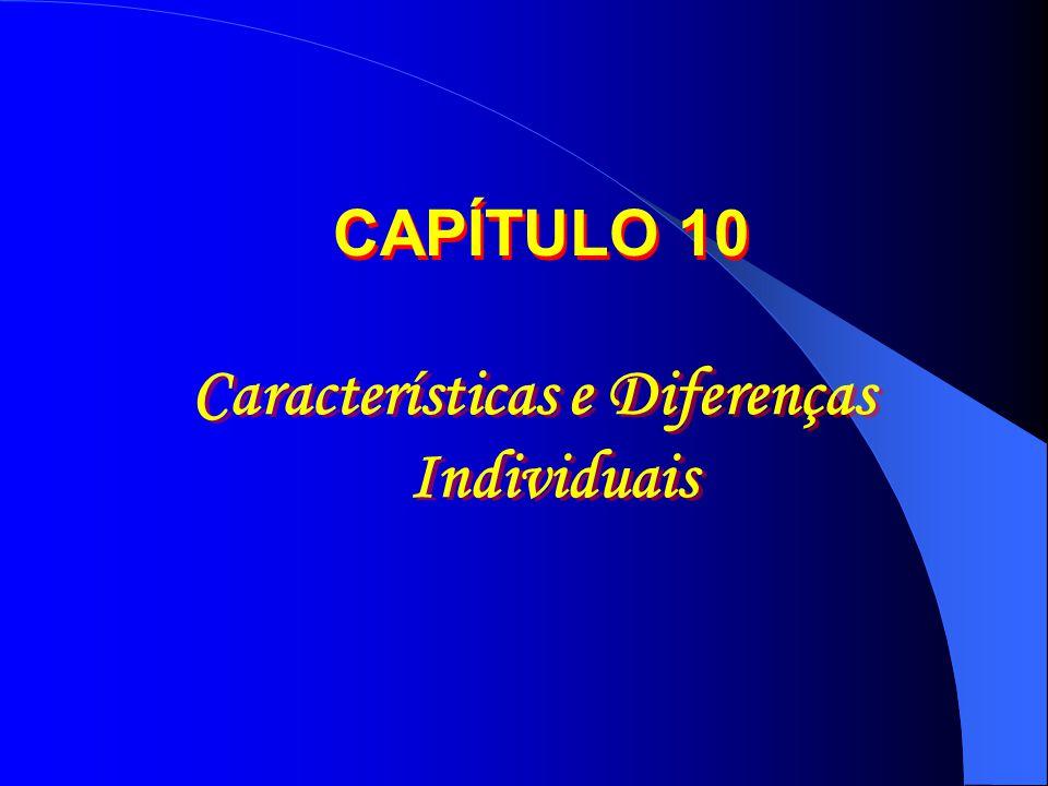 Características e Diferenças Individuais