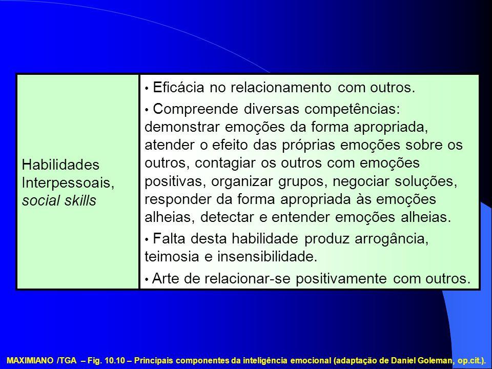 Habilidades Interpessoais, social skills