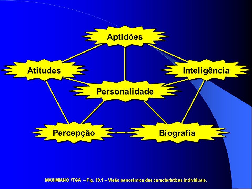 Aptidões Atitudes Inteligência Personalidade Percepção Biografia