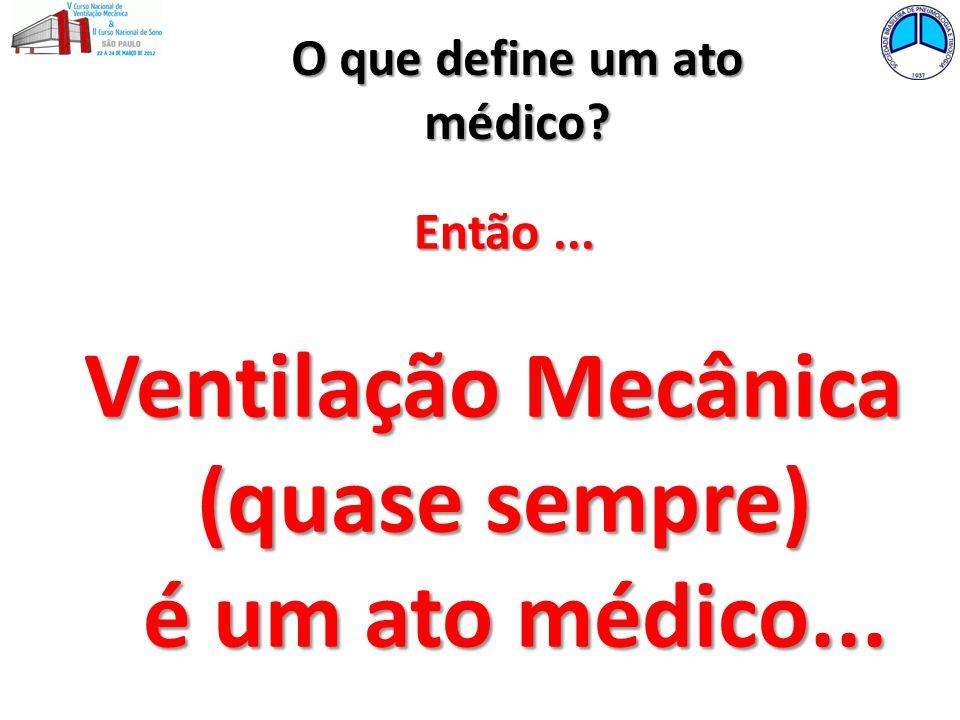 O que define um ato médico