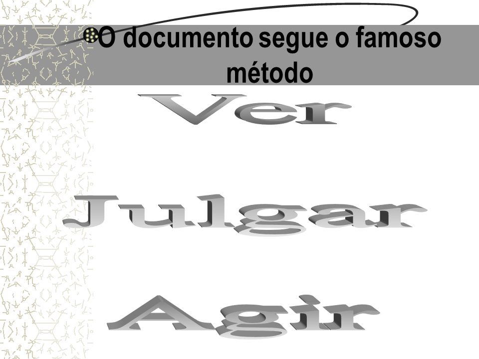 O documento segue o famoso método