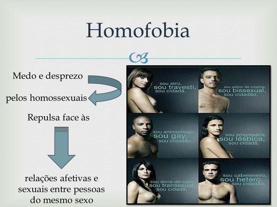 relações afetivas e sexuais entre pessoas do mesmo sexo
