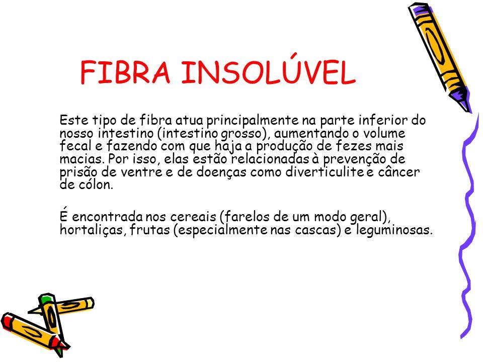 FIBRA INSOLÚVEL
