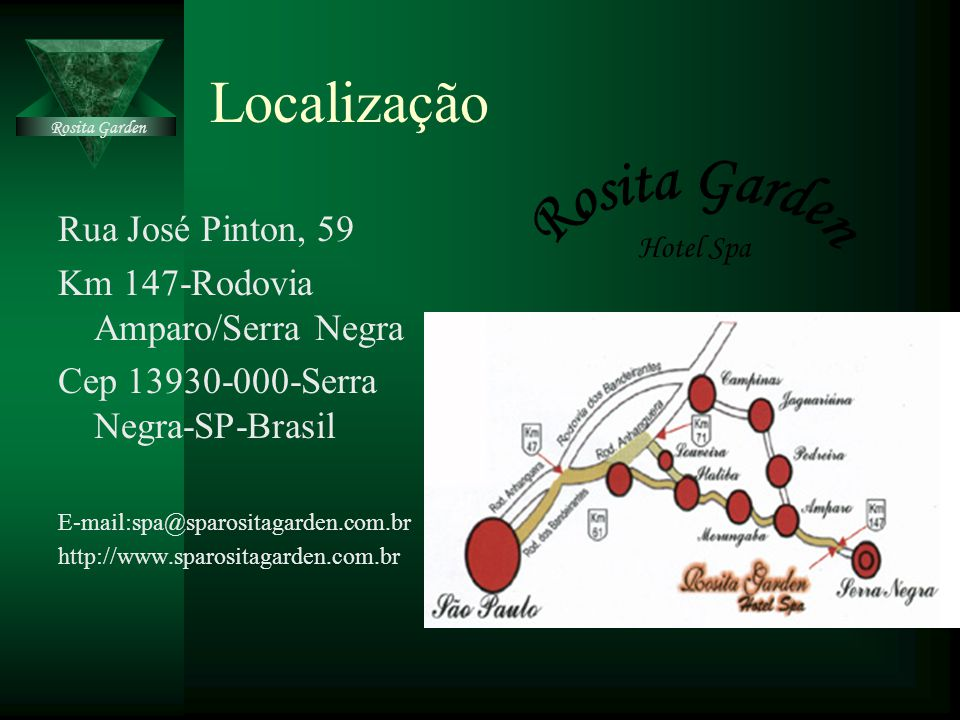 Localização Rosita Garden Rua José Pinton, 59