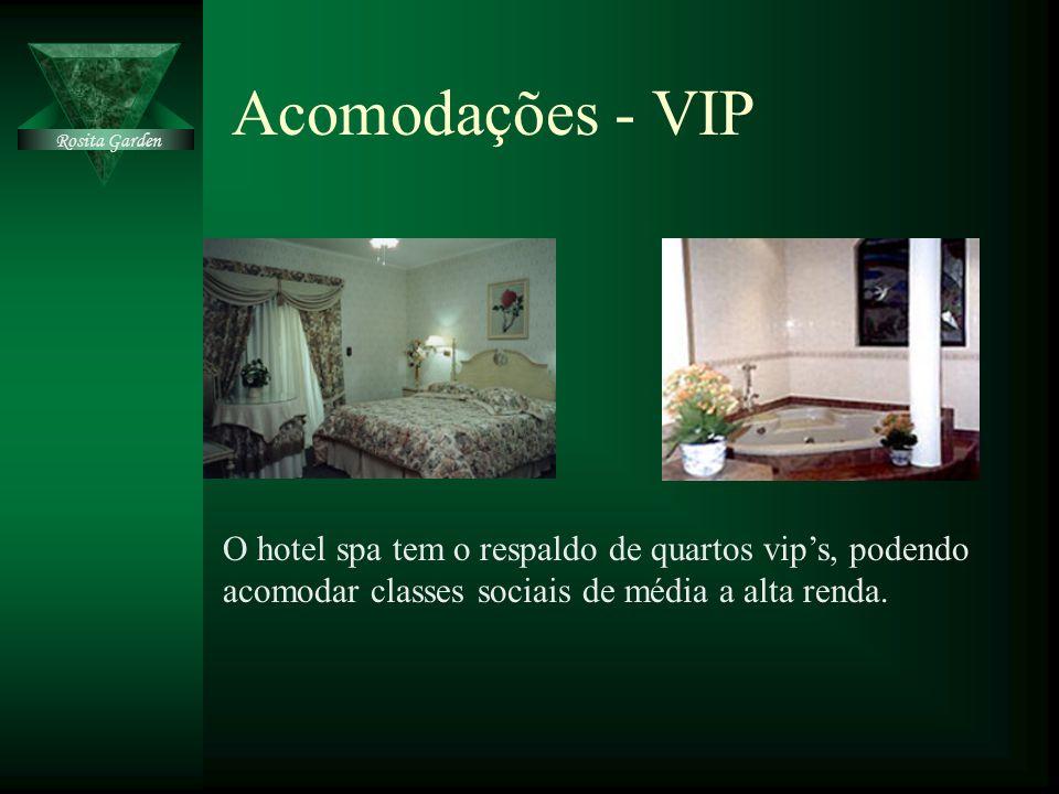 Acomodações - VIP Rosita Garden. Clique para adicionar texto.