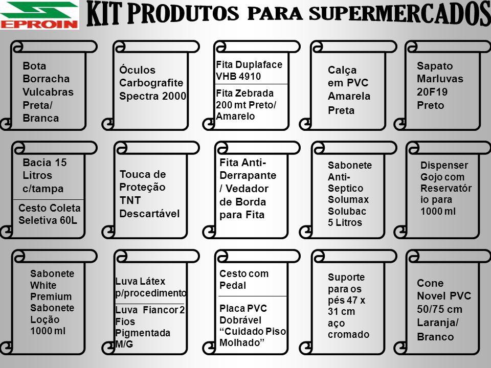 KIT PRODUTOS PARA SUPERMERCADOS