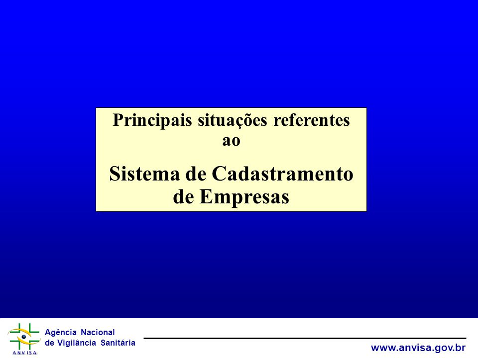 Sistema de Cadastramento de Empresas
