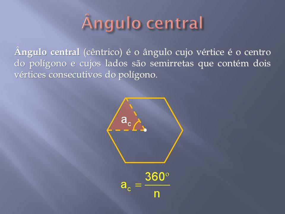 Ângulo central