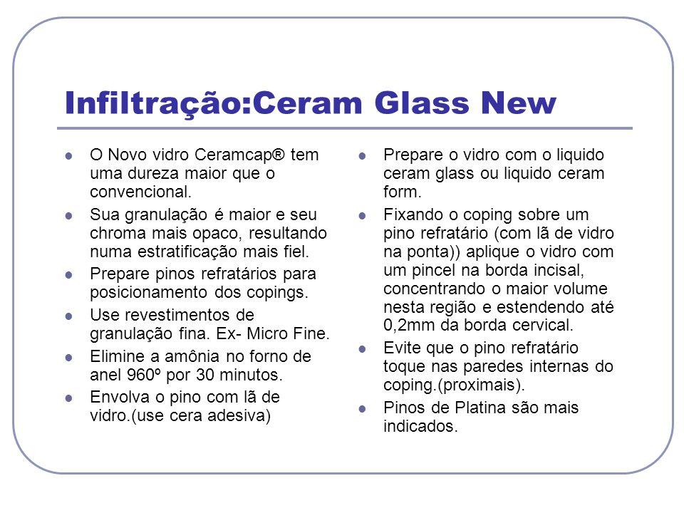 Infiltração:Ceram Glass New