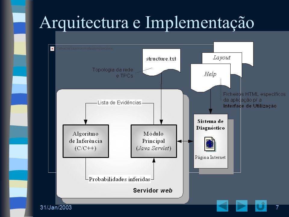 Arquitectura e Implementação