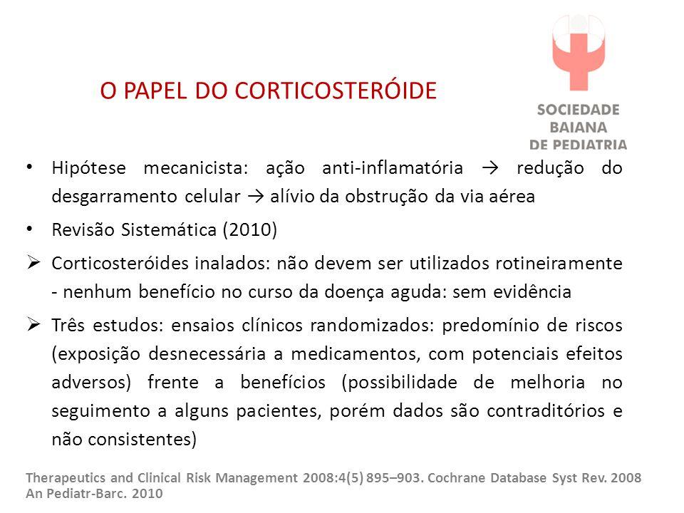 O PAPEL DO CORTICOSTERÓIDE