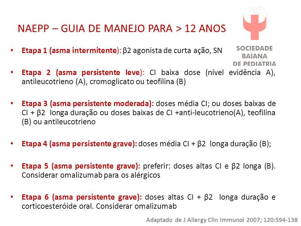 NAEPP – GUIA DE MANEJO PARA > 12 ANOS