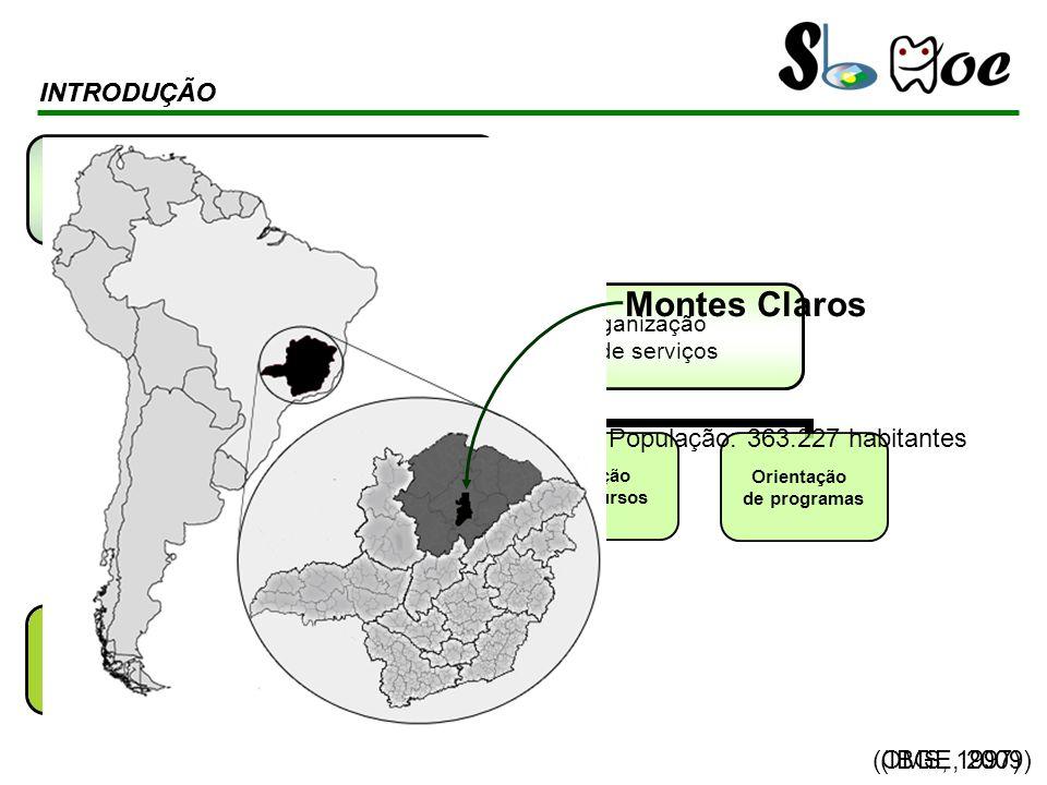 Montes Claros INTRODUÇÃO INTRODUÇÃO População: 363.227 habitantes