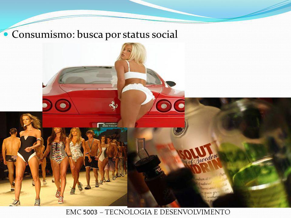 Consumismo: busca por status social