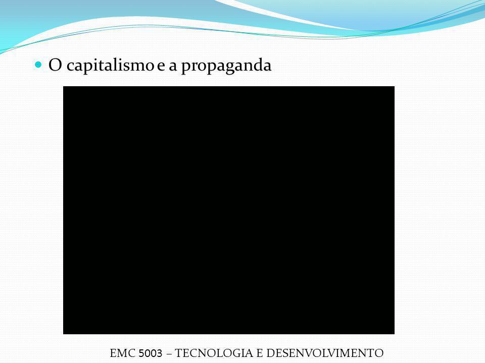 O capitalismo e a propaganda