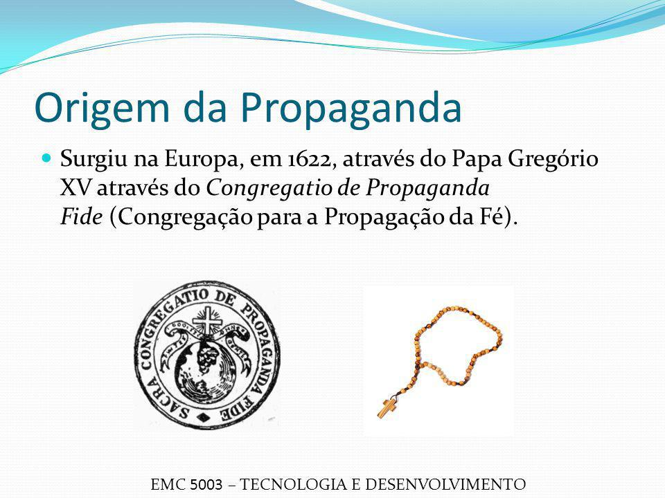 Origem da Propaganda