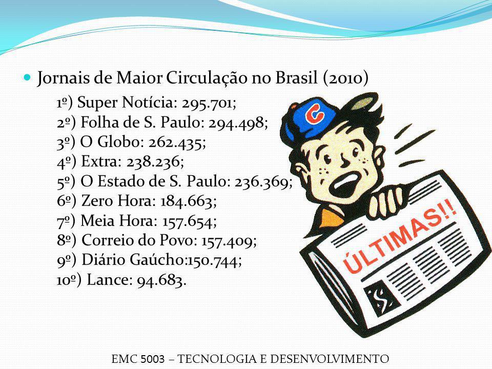 Jornais de Maior Circulação no Brasil (2010)
