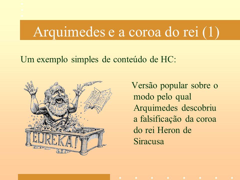 Arquimedes e a coroa do rei (1)