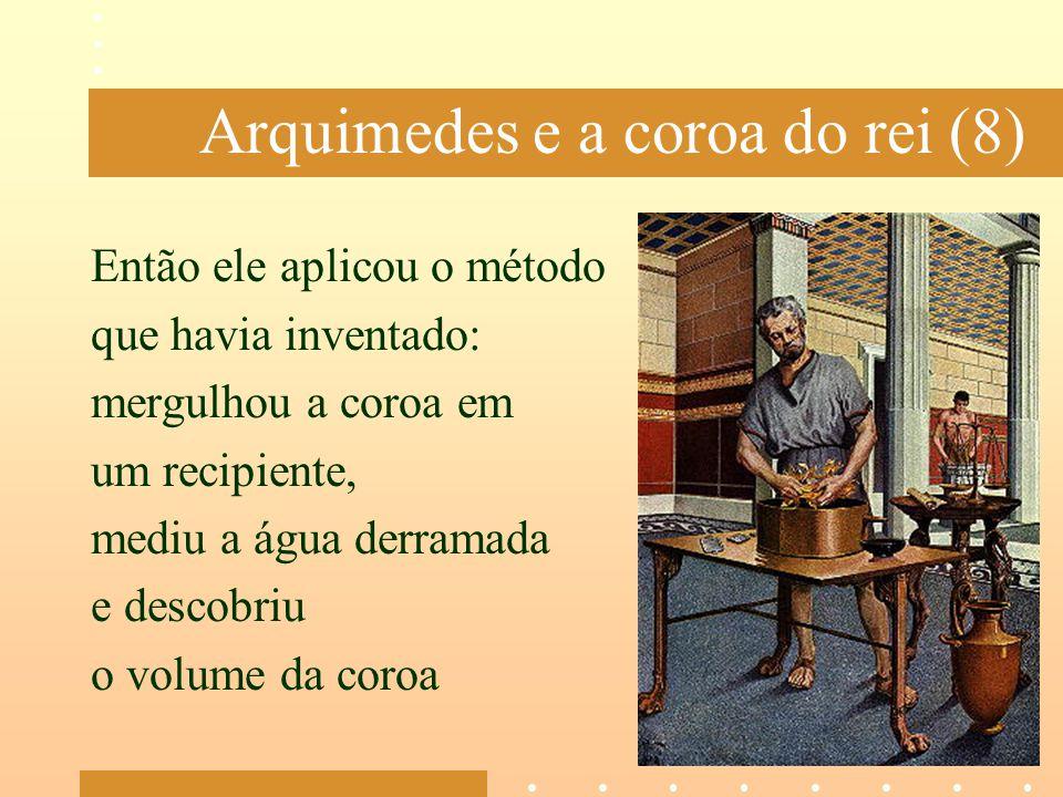 Arquimedes e a coroa do rei (8)
