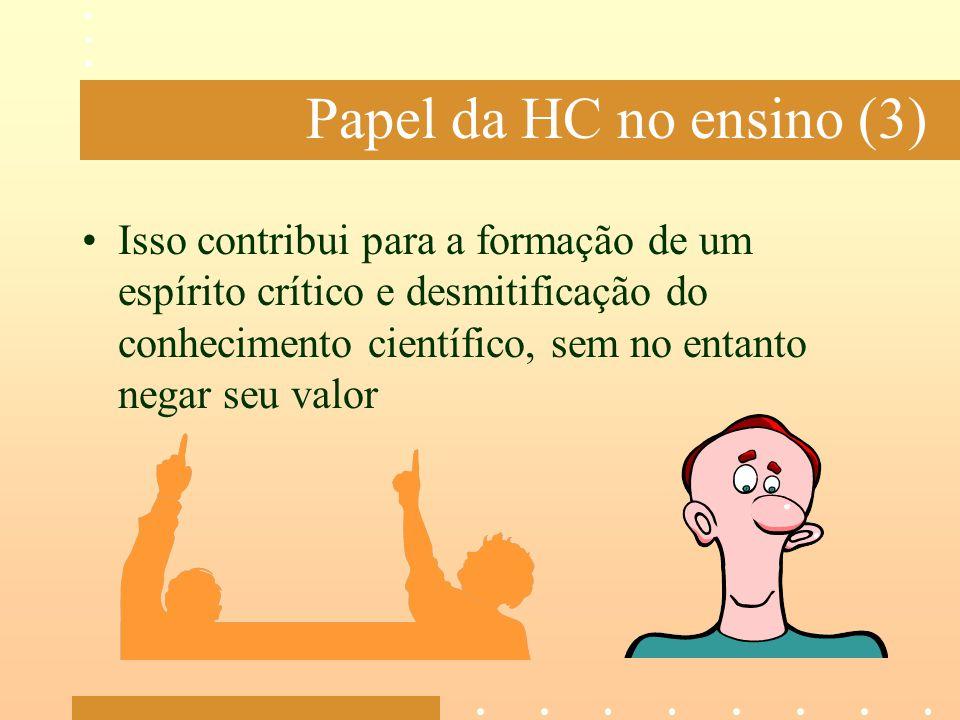Papel da HC no ensino (3)