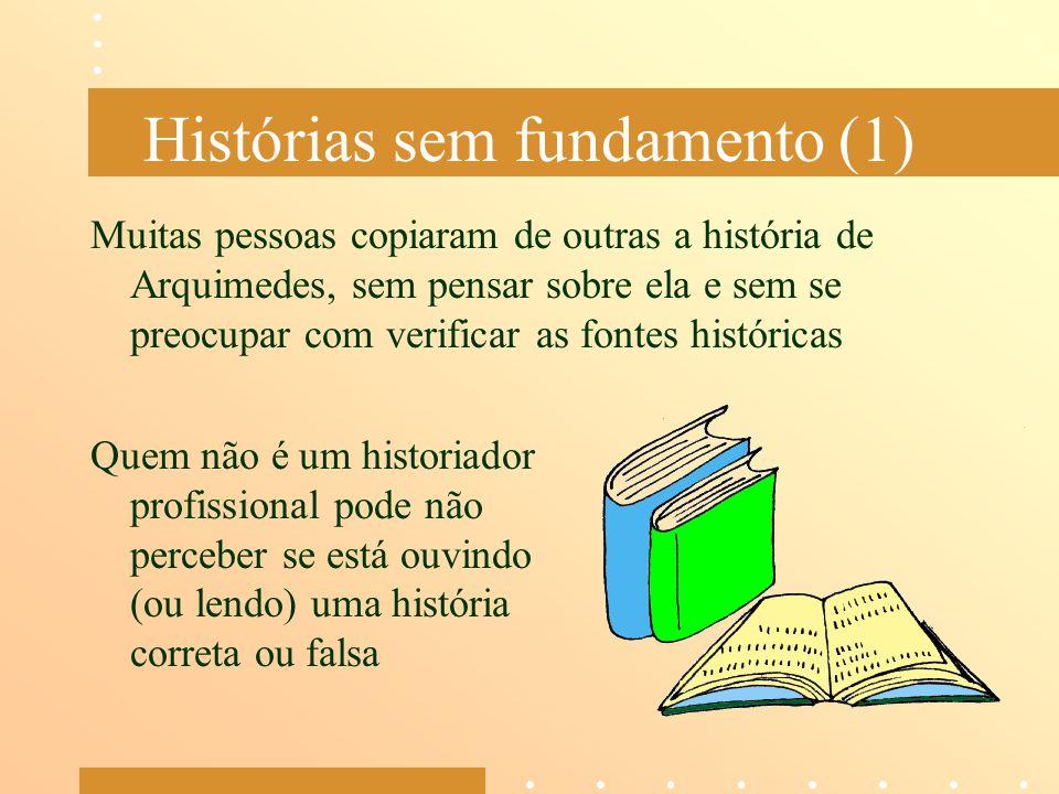 Histórias sem fundamento (1)