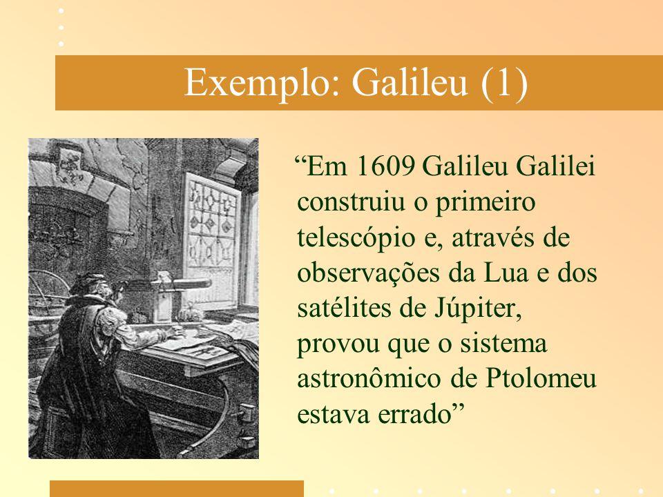 Exemplo: Galileu (1)