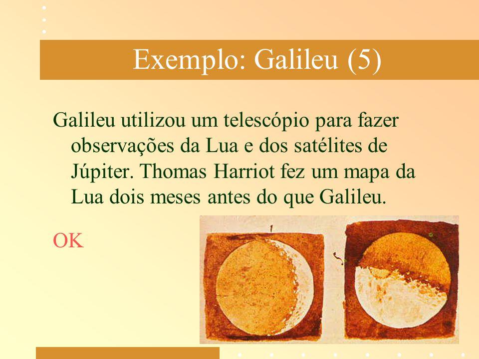 Exemplo: Galileu (5)