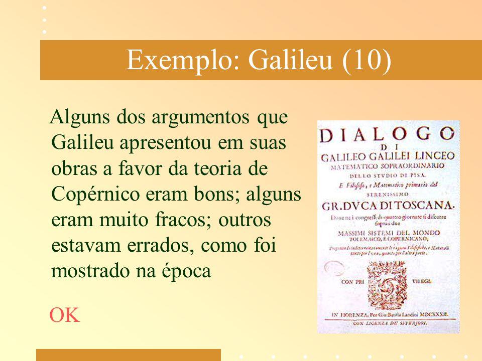 Exemplo: Galileu (10)