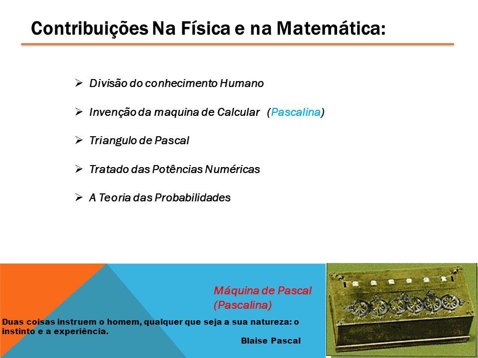 Contribuições Na Física e na Matemática: