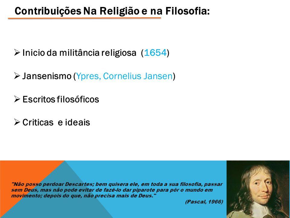 Contribuições Na Religião e na Filosofia: