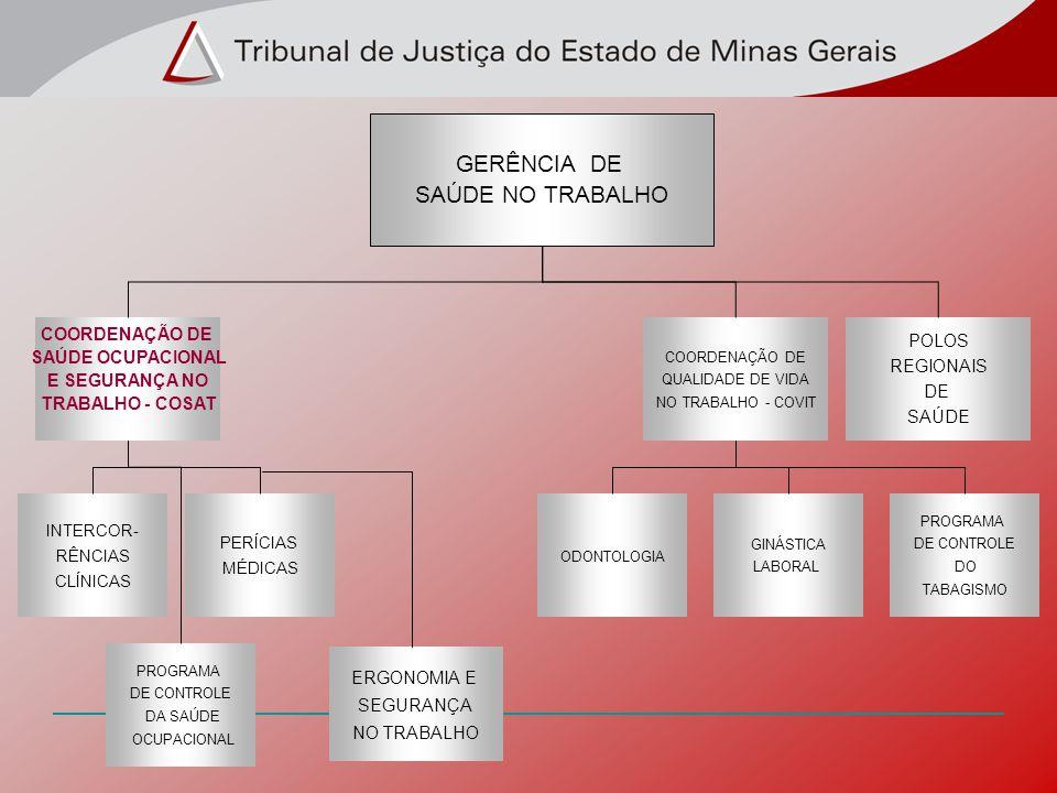 GERÊNCIA DE SAÚDE NO TRABALHO COORDENAÇÃO DE POLOS SAÚDE OCUPACIONAL