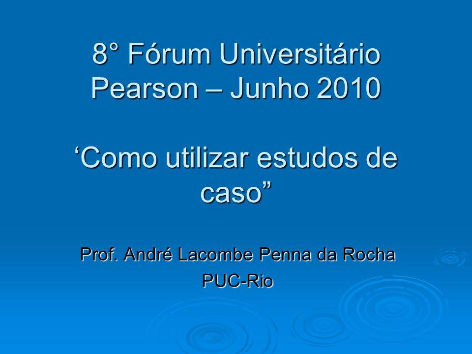 Prof. André Lacombe Penna da Rocha PUC-Rio